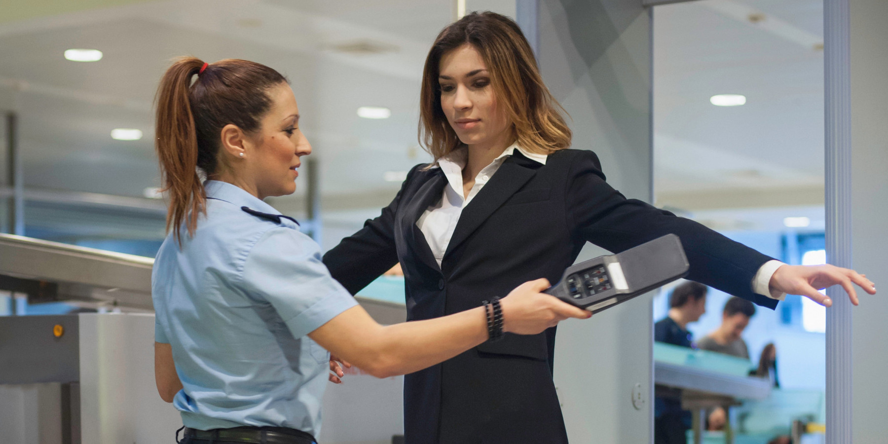 Signs of female adult in security